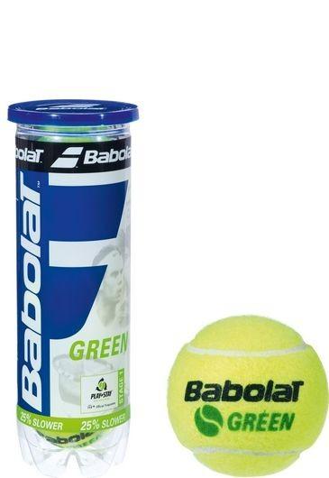 Piłki tenisowe Babolat Academy Green 3szt