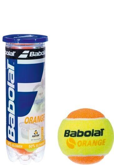 Piłki tenisowe Babolat Academy Orange 3szt