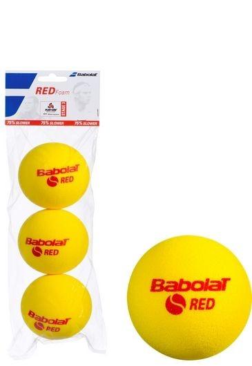 Piłki tenisowe Babolat Red Foam 3szt