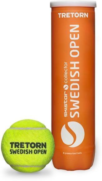 Piłki tenisowe Tretorn Swedish Open - karton 18 puszek x 4 piłki - dobra cena!