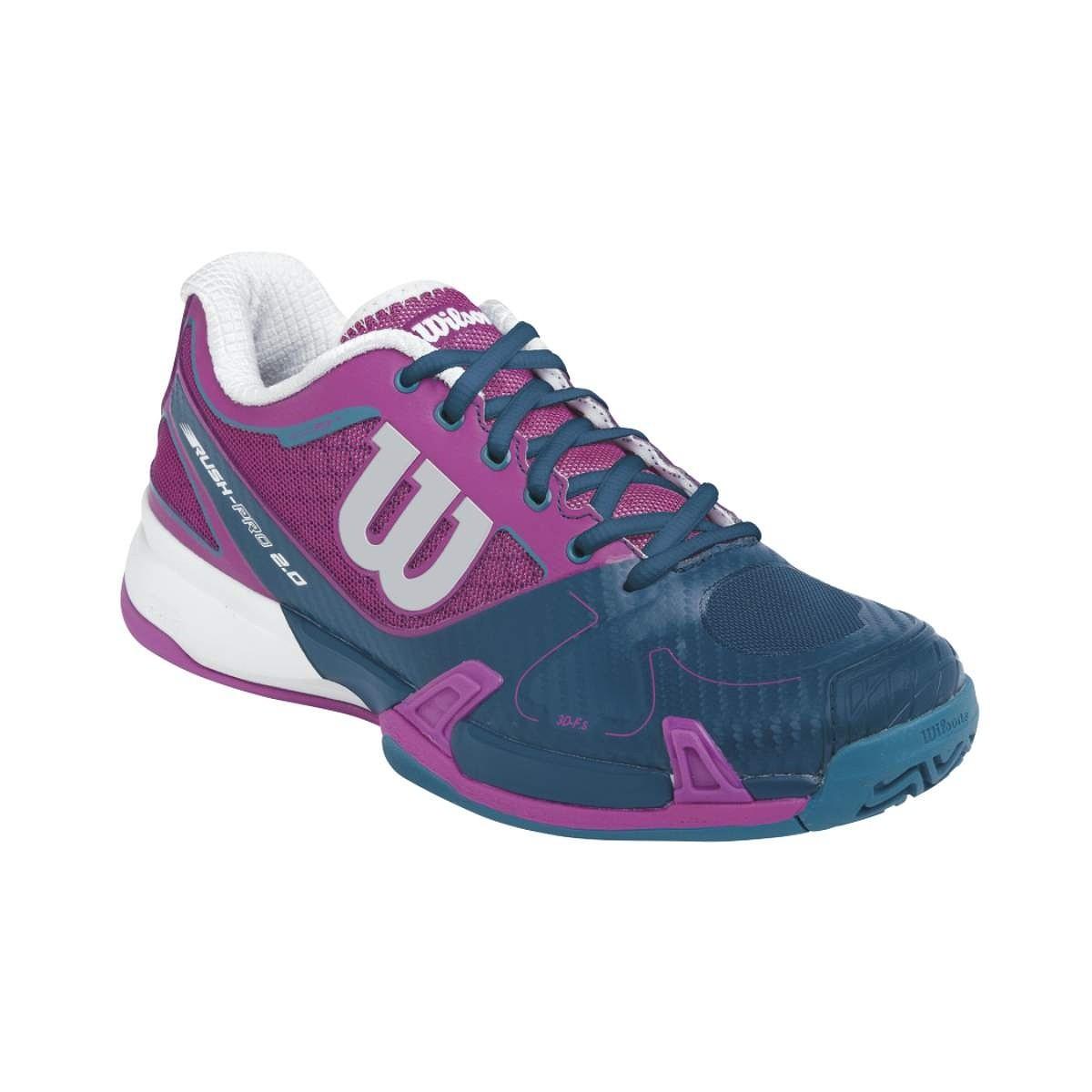 Buty tenisowe damskie Wilson Rush Pro 2.0 Women's Clay - wyprzedaż!