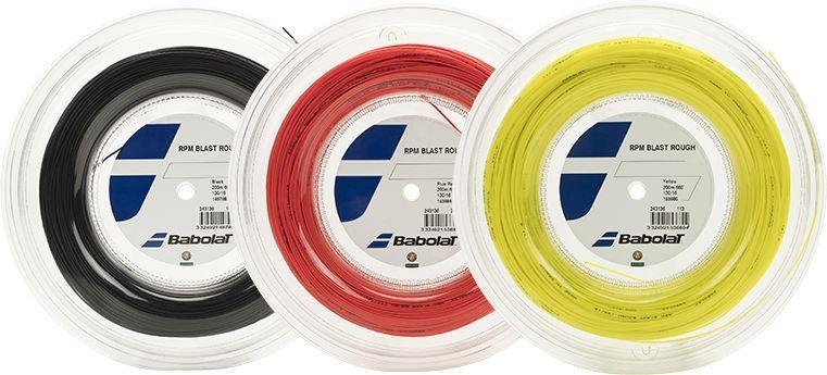 Naciąg tenisowy Babolat RPM Blast Rough - szpula 200m
