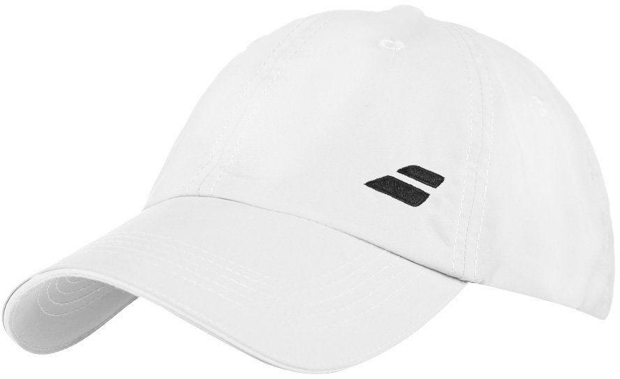 Czapka tenisowa Babolat Logo Cap White