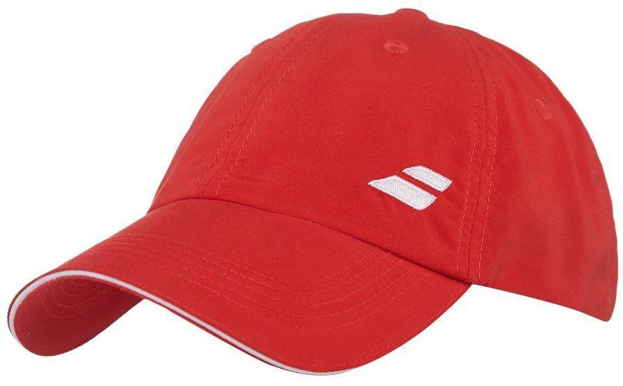 Czapka tenisowa Babolat Logo Cap Red