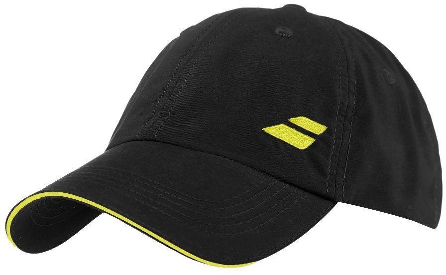 Czapka tenisowa Babolat Logo Cap Black