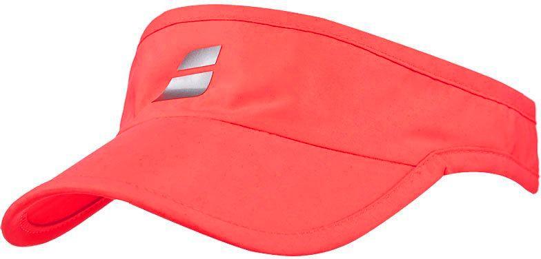 Daszek tenisowy Babolat Visor Fluo Red