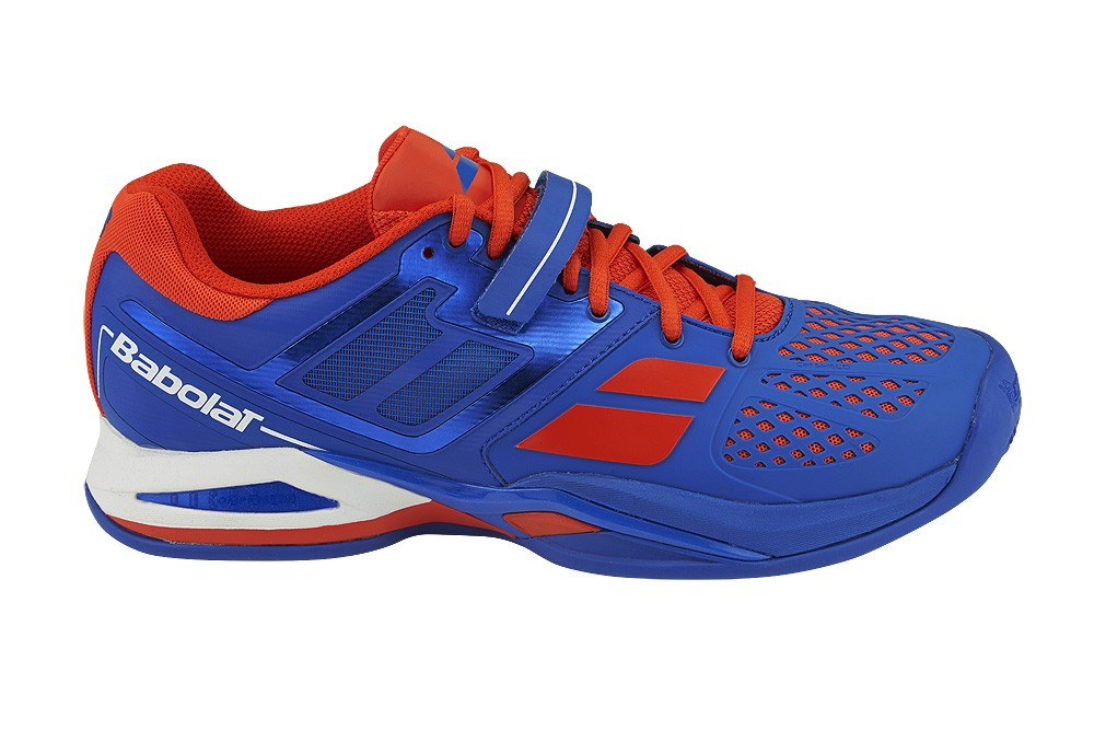 Buty tenisowe Babolat Propulse Clay - blue /red