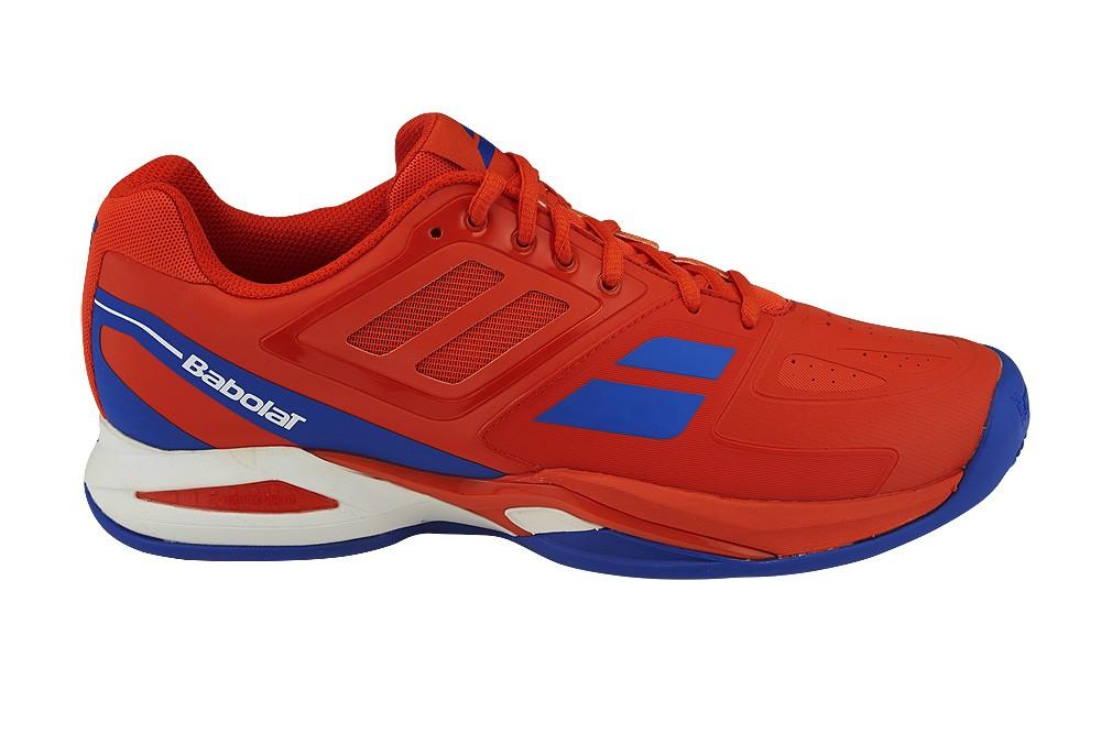 Buty tenisowe Babolat Propulse Team Clay - red - wyprzedaż!