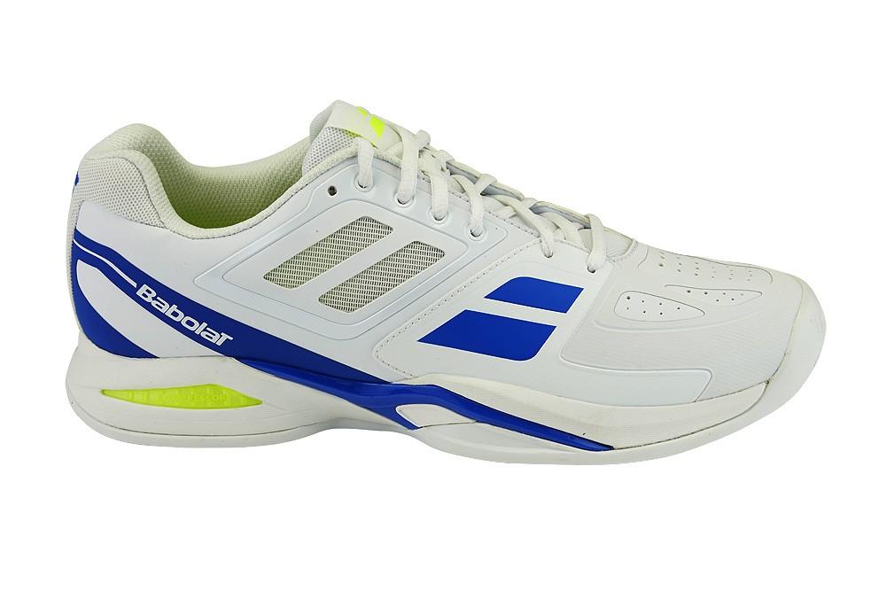 Buty tenisowe Babolat Propulse Team Clay - white - Wyprzedaż!