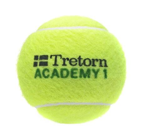 Piłki tenisowe Tretorn Academy Green 3 szt