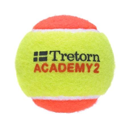 Piłki tenisowe Tretorn Academy Orange 3szt