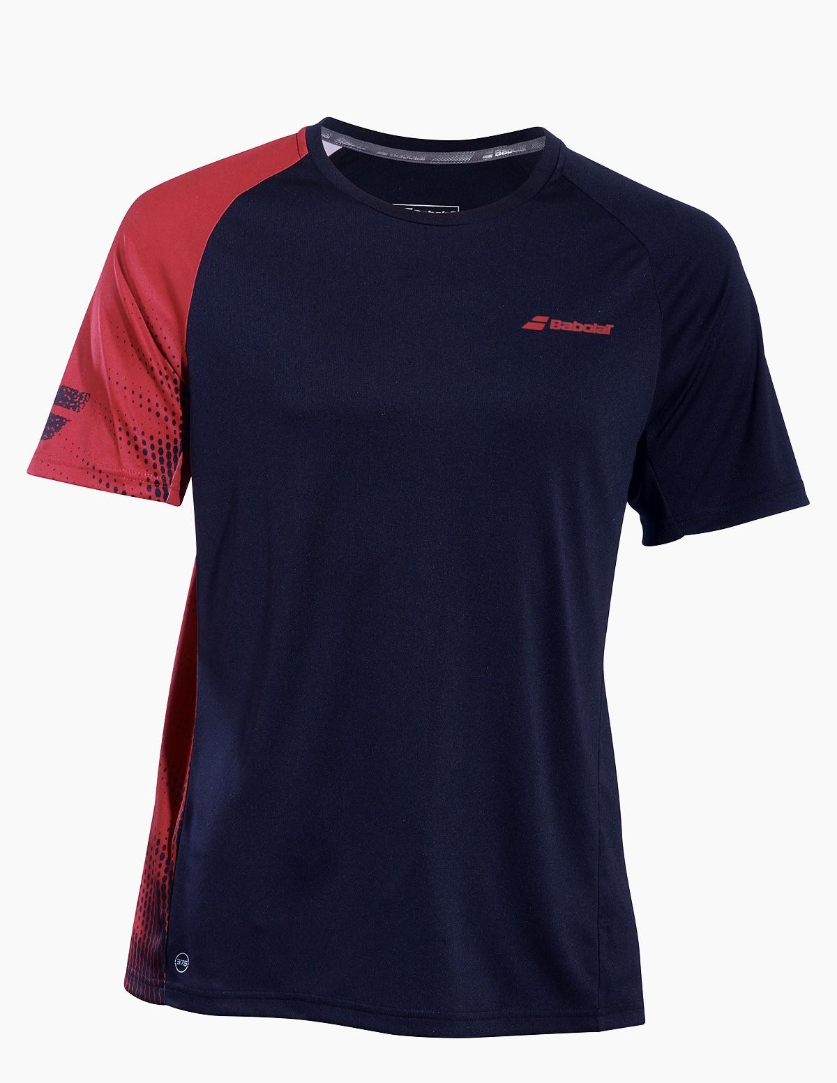 Koszulka tenisowa chłopięca Babolat PERF T-shirt Black -45%