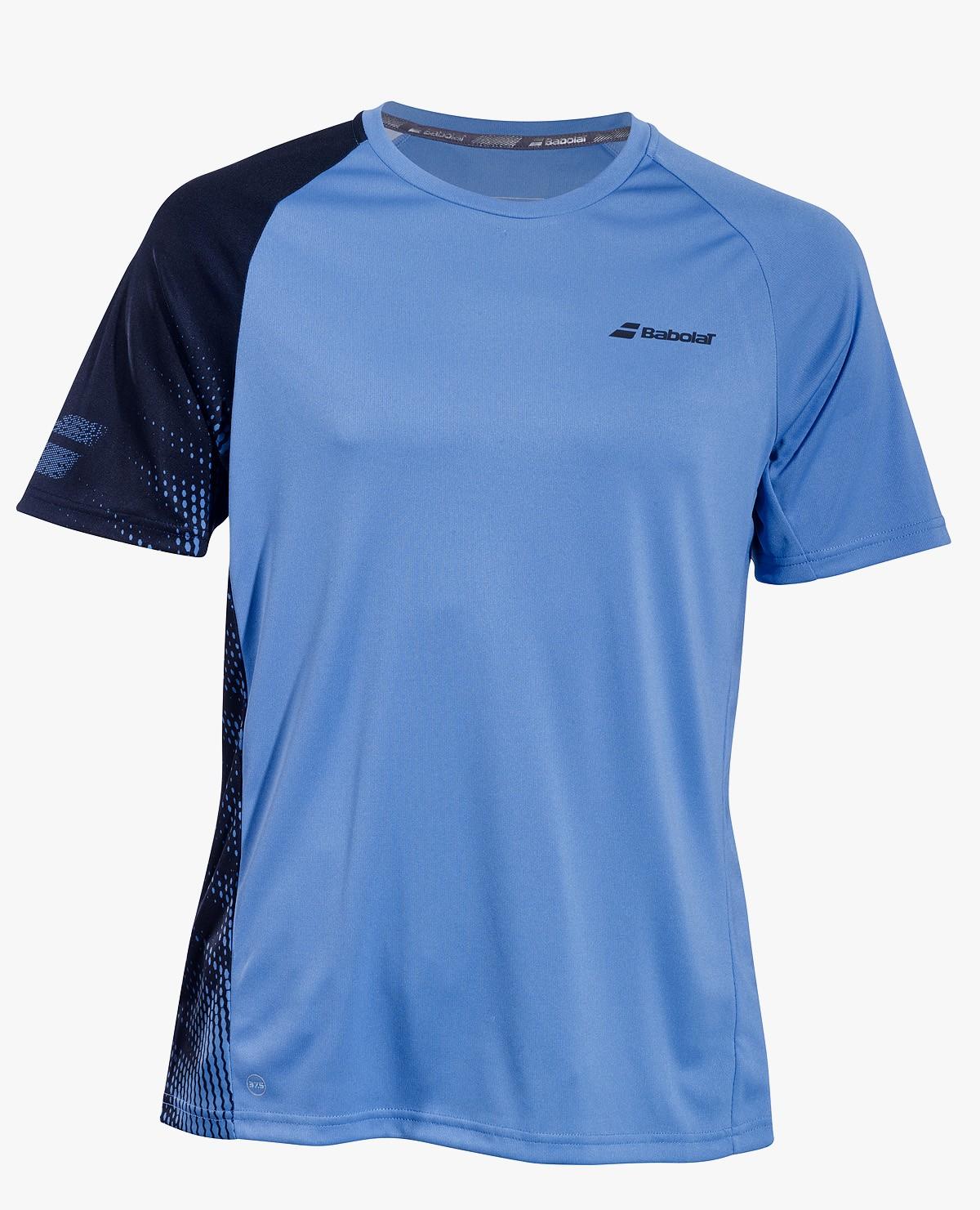 Koszulka tenisowa chłopięca Babolat PERF T-shirt Parisian Blue -45%