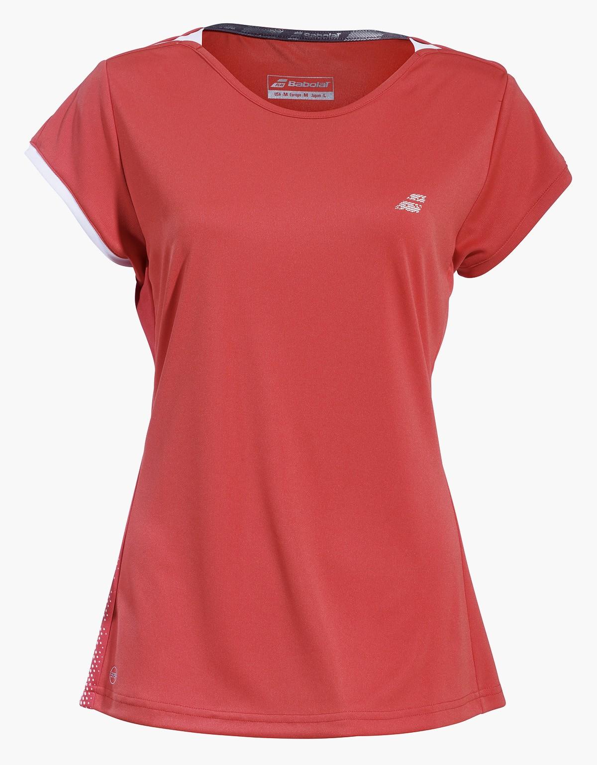 Koszulka tenisowa dziewczęca Babolat PERF Cap Sleeve Hibiscus -50%