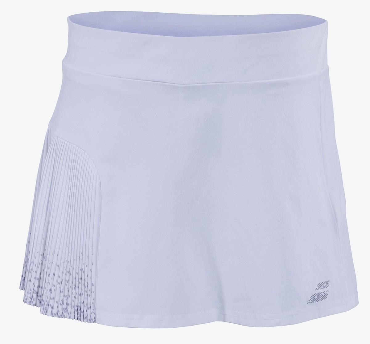 Spódniczka tenisowa dziewczęca Babolat PERF Skirt White -50%