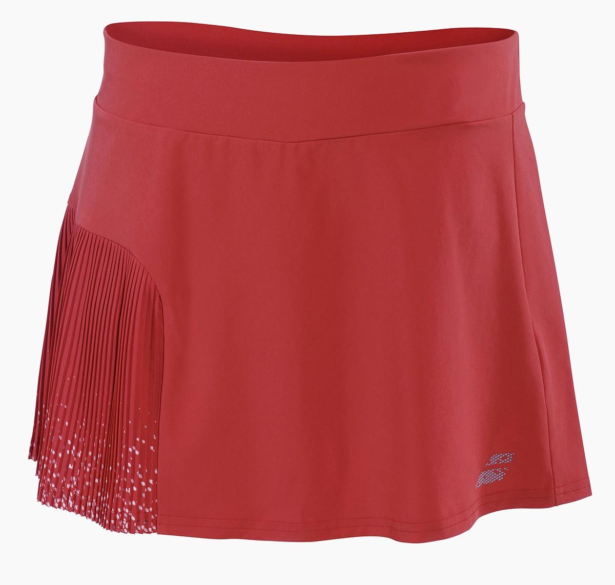 Spódniczka tenisowa dziewczęca Babolat PERF Skirt Hibiscus