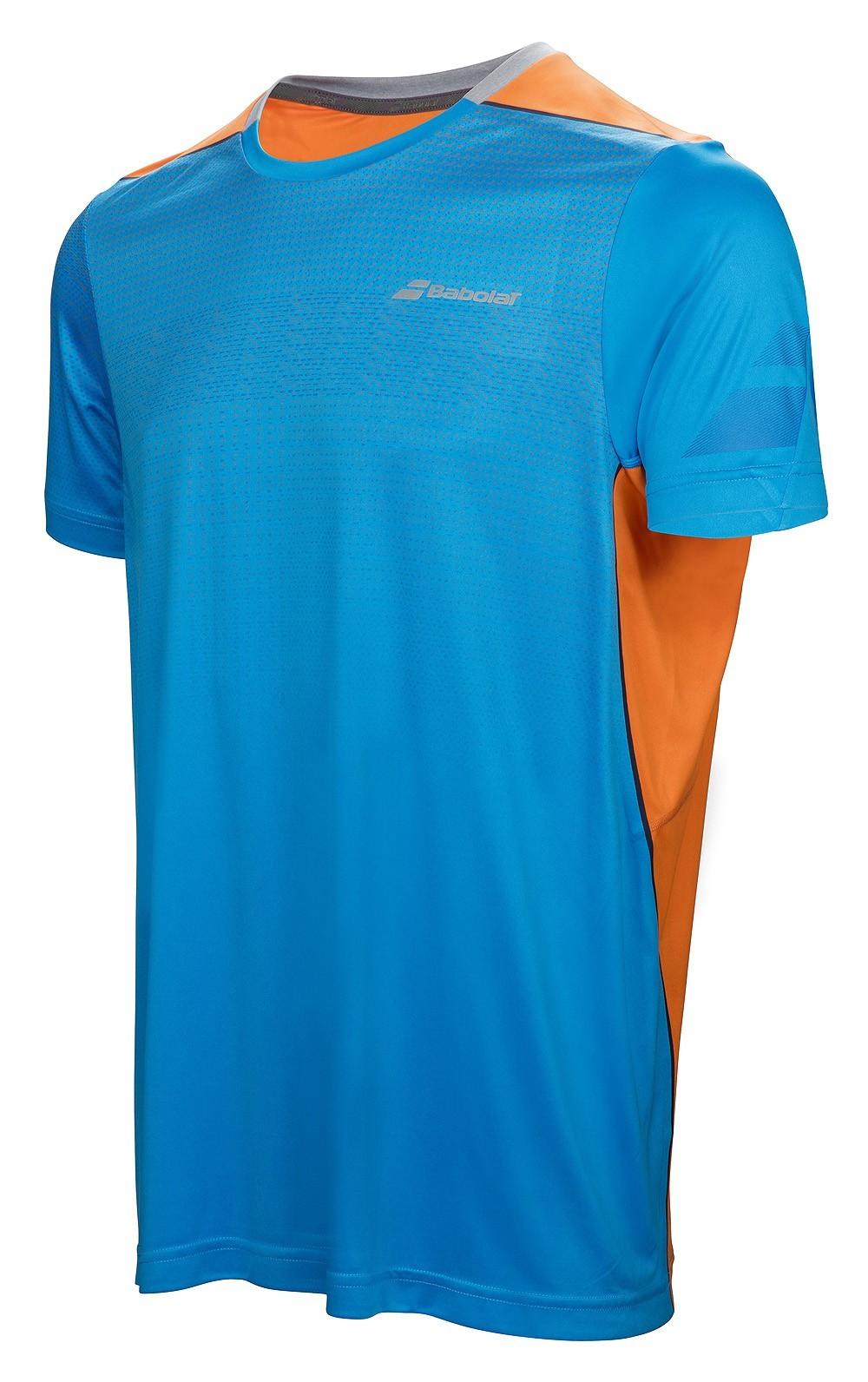 Koszulka tenisowa chłopięca Babolat Performance Crew Neck - 50%