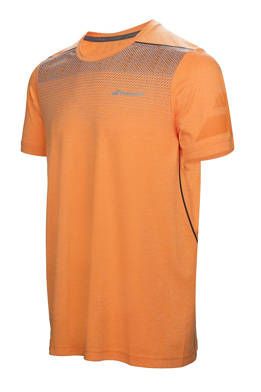 Koszulka tenisowa Babolat Performance Crew Neck Celosia Orange