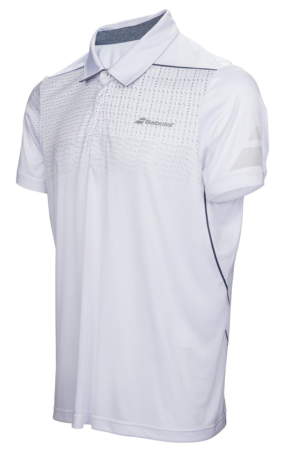 Koszulka tenisowa Babolat Polo Performance White