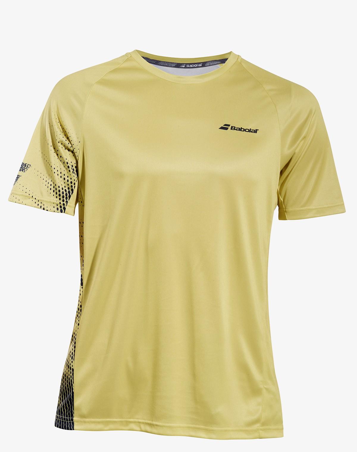 Koszulka tenisowa Babolat PERF T-shirt Dark Yellow -45%