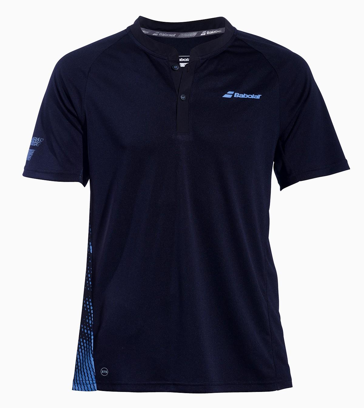 Koszulka tenisowa Babolat PERF Polo Black