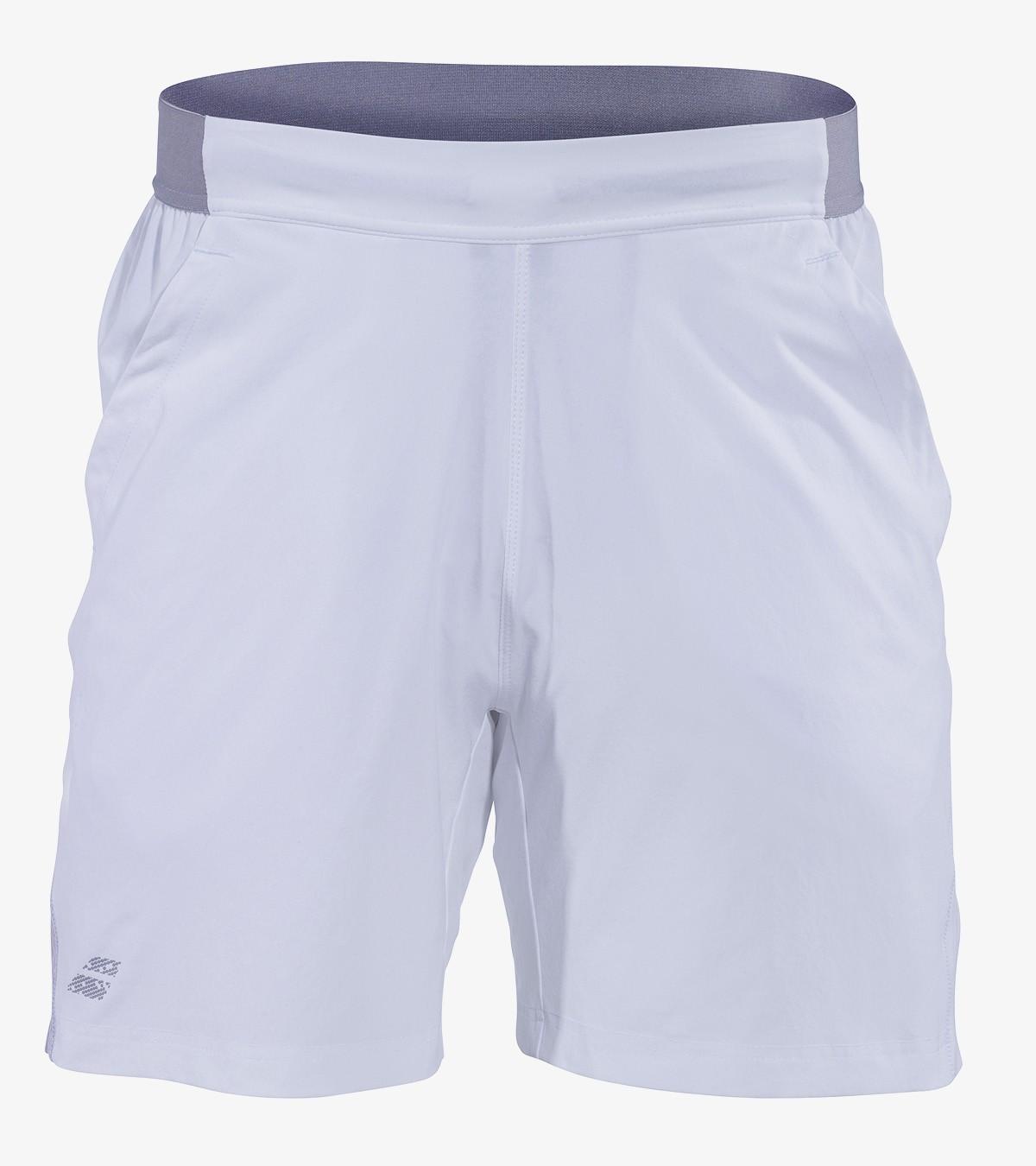 """Spodenki tenisowe Babolat PERF Short 7"""" White -45%"""