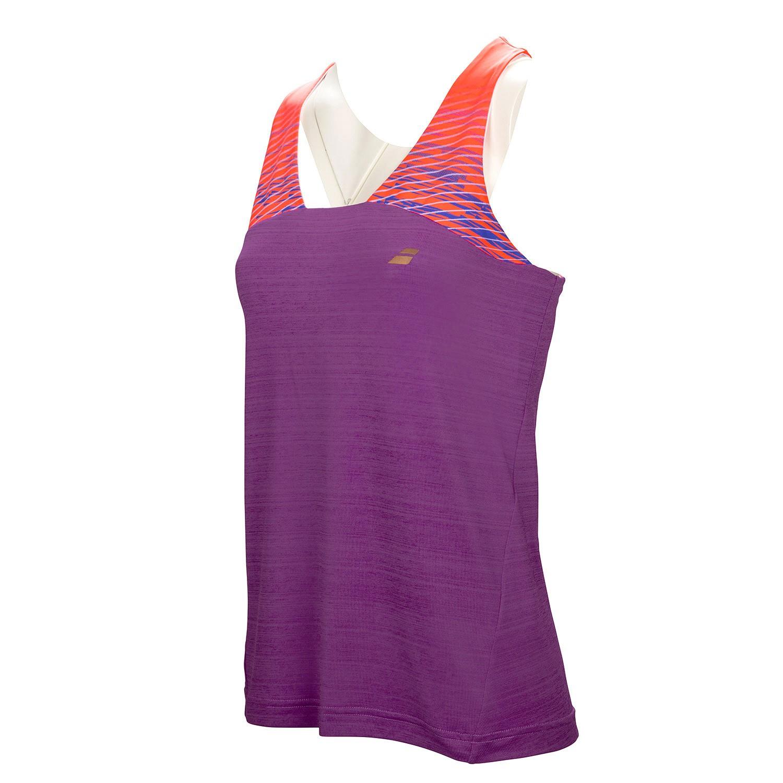 Koszulka tenisowa damska Babolat Performance Racerback - wyprzedaż!