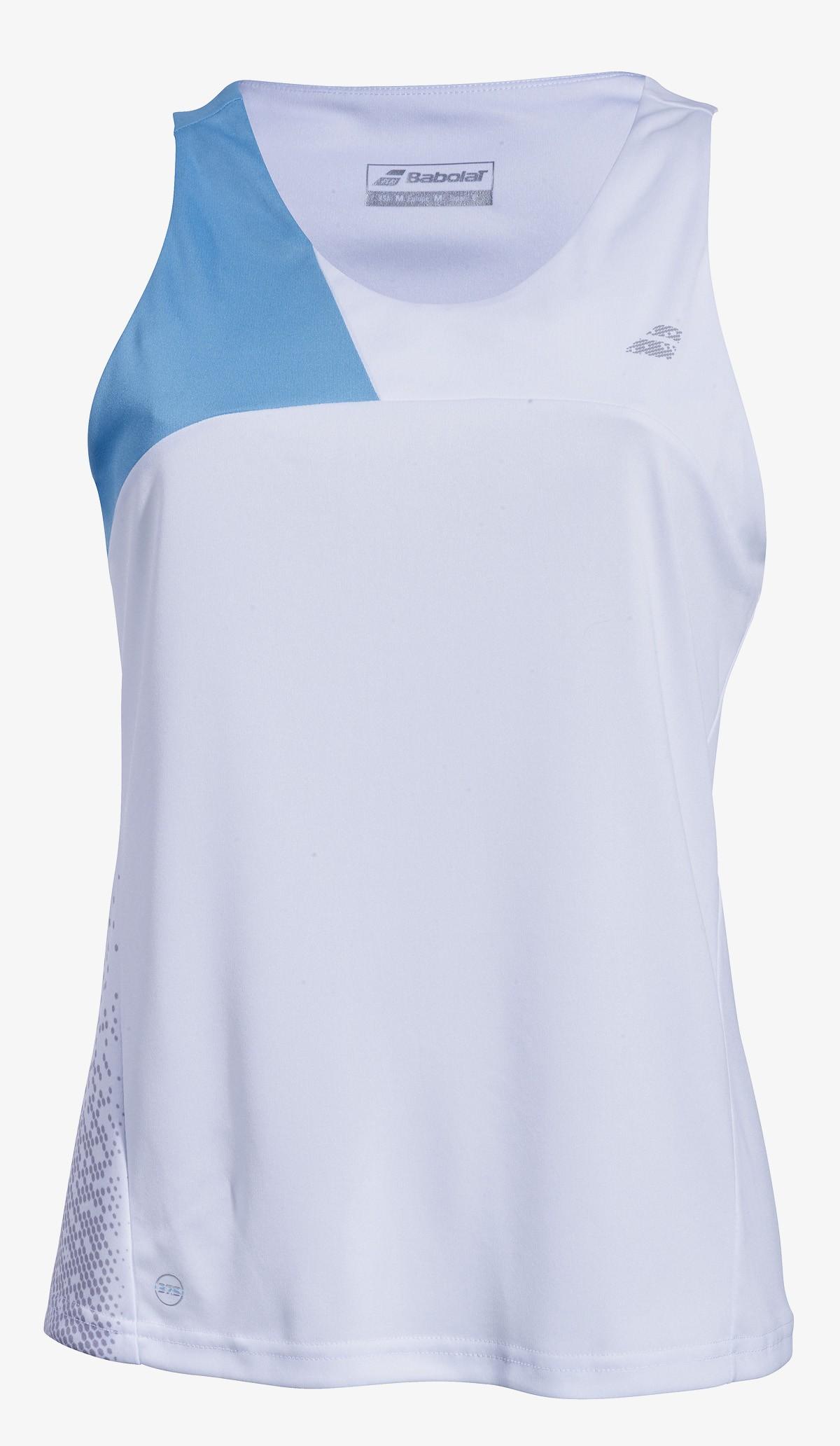 Koszulka tenisowa damska Babolat PERF Tank Top White -50%