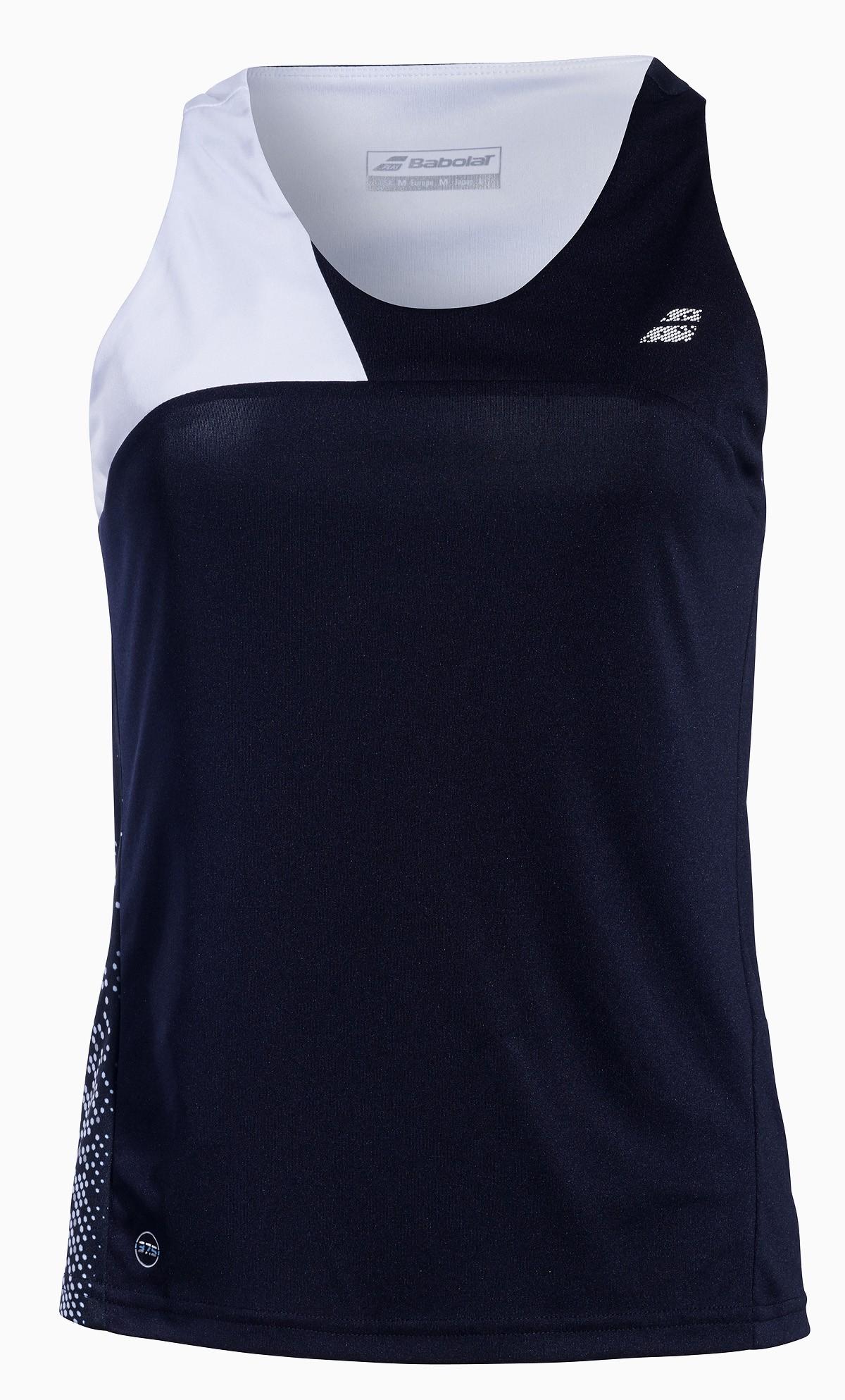 Koszulka tenisowa damska Babolat PERF Tank Top Black - 50%