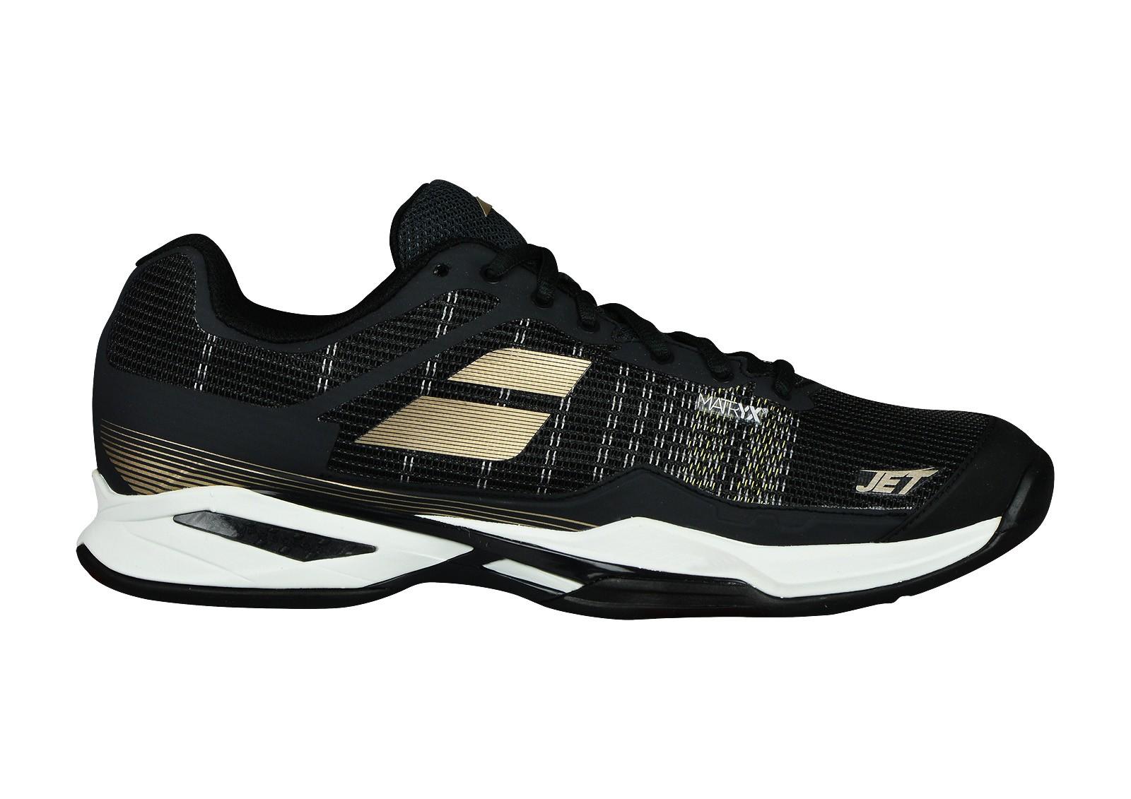 Buty tenisowe Babolat Jet Mach I Clay Black