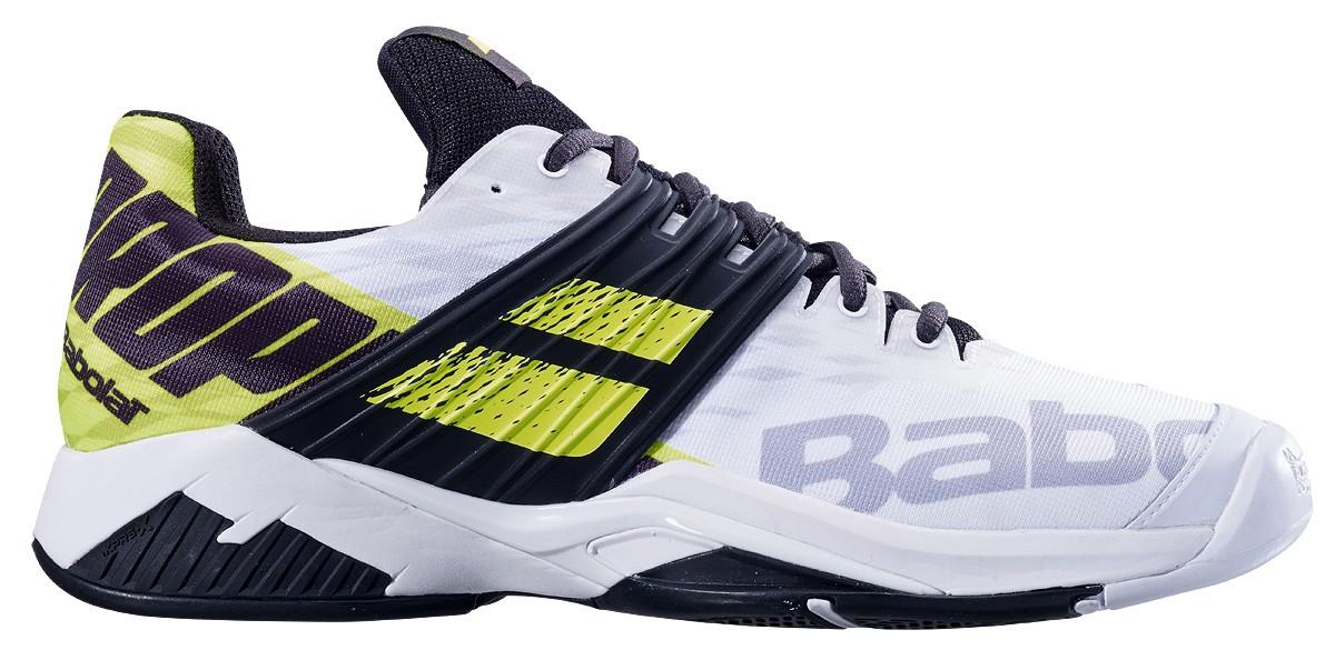Buty tenisowe Babolat Propulse Fury All Court White / Fluo Aero -40%