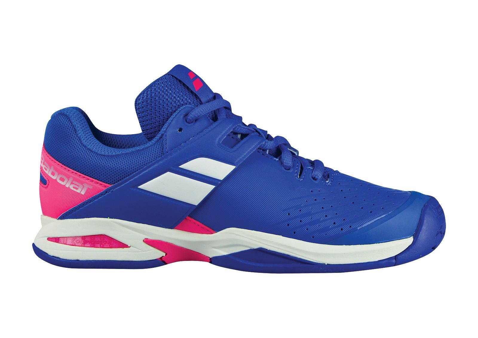 Buty tenisowe Babolat Propulse Junior Princess Blue - Wyprzedaż!
