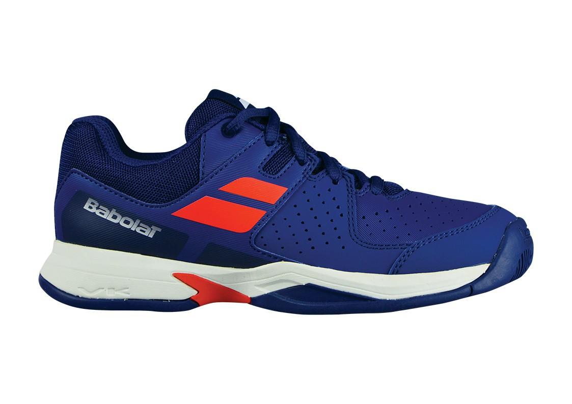 Buty tenisowe Babolat Pulsion Junior Blue Estate - Wyprzedaż - 40%