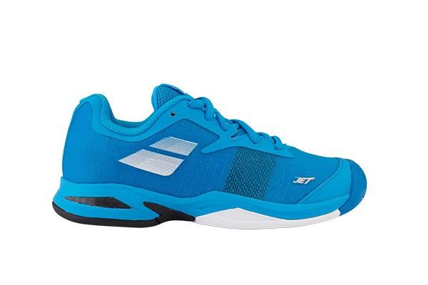 Buty tenisowe Babolat Jet AC Junior Blue - Wyprzedaż!