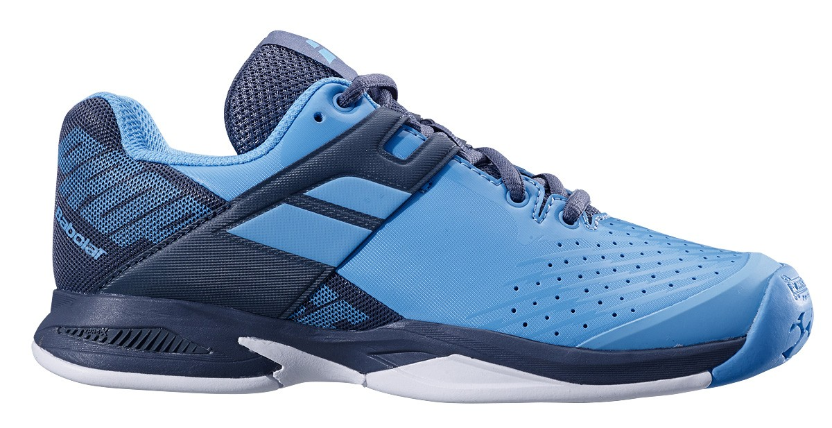 Buty tenisowe Babolat Propulse Junior AC Blue / Grey -40%