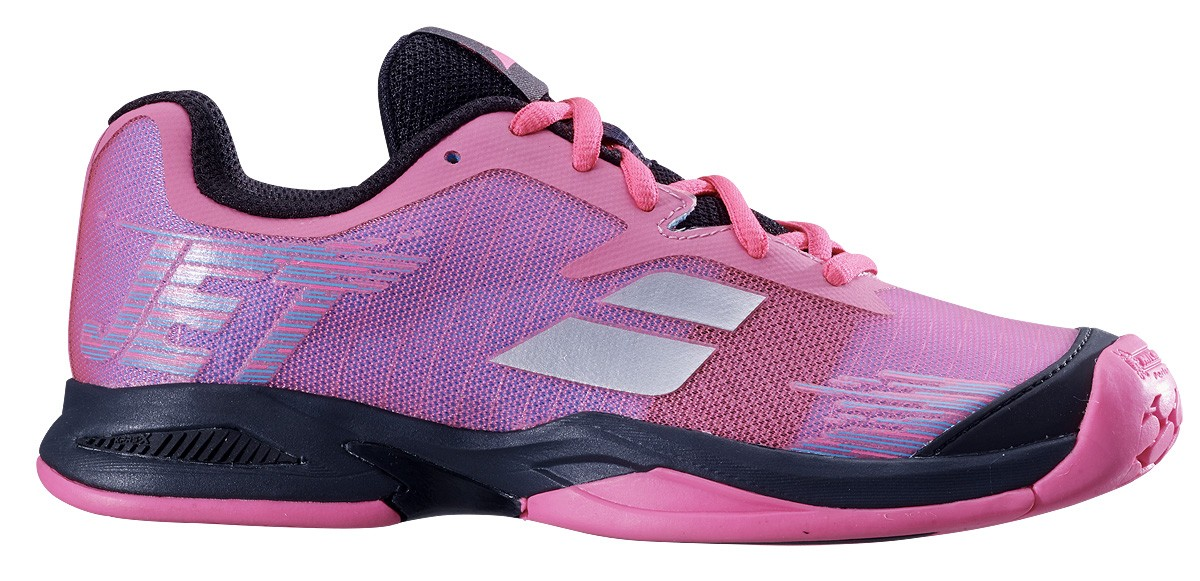 Buty tenisowe Babolat Jet Junior All Court Pink -40%