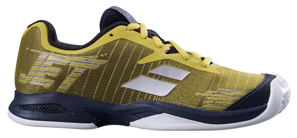 Buty tenisowe Babolat Jet Junior Clay Dark Yellow -40%