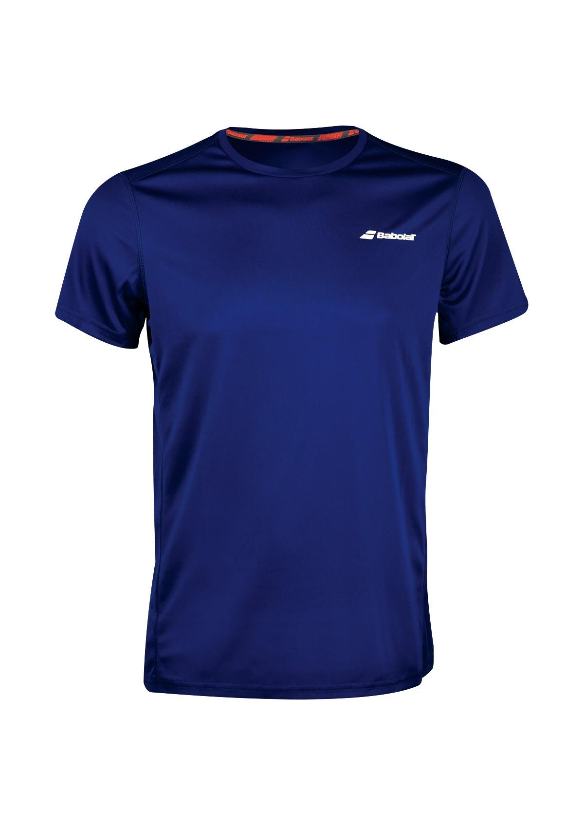 Koszulka tenisowa chłopięca Babolat CORE T-shirt Navy -45%