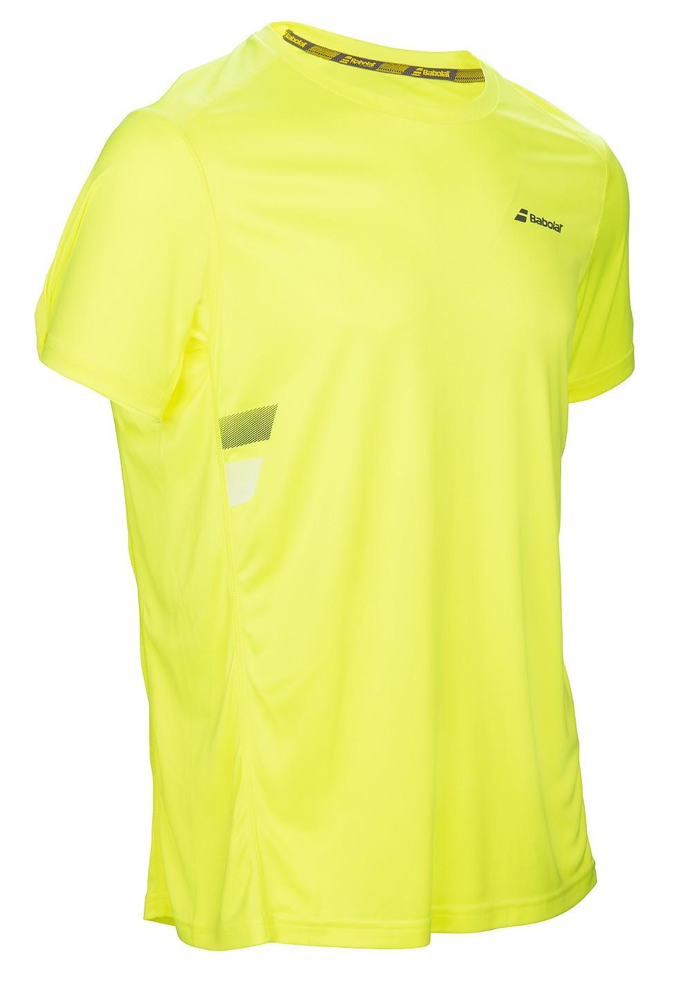 Koszulka tenisowa Babolat Flag Core Tee Aero - wyprzedaż!