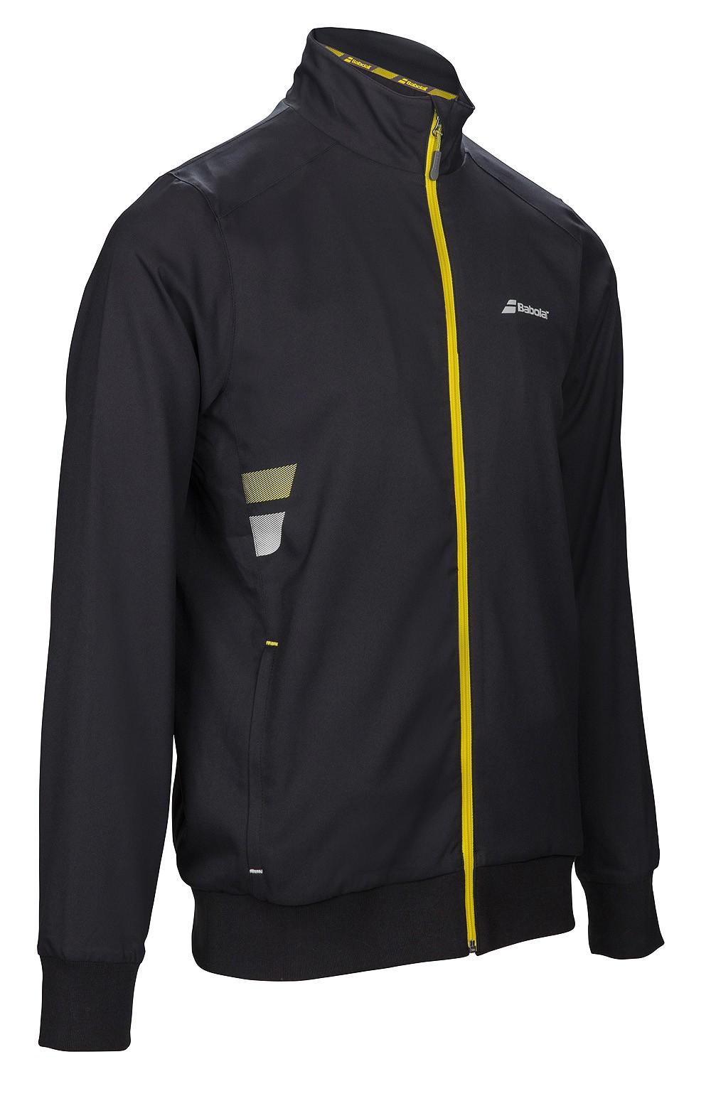 Bluza tenisowa Babolat Jacket Core Black - wyprzedaż!