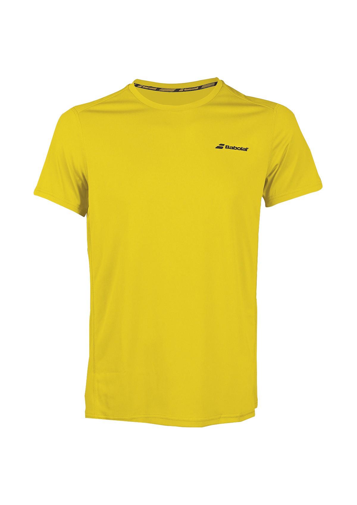 Koszulka tenisowa Babolat CORE T-shirt Yellow -45%