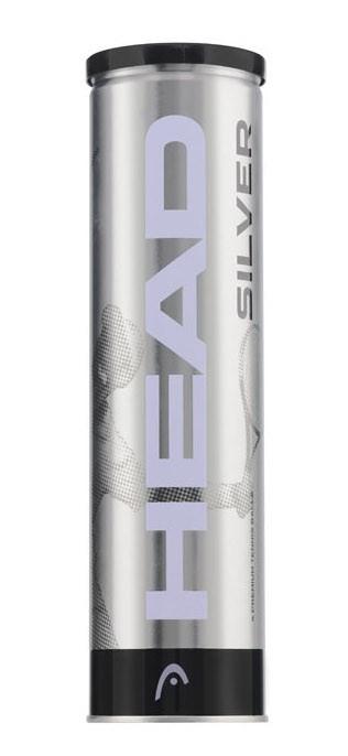 Piłki tenisowe Head Silver 4szt