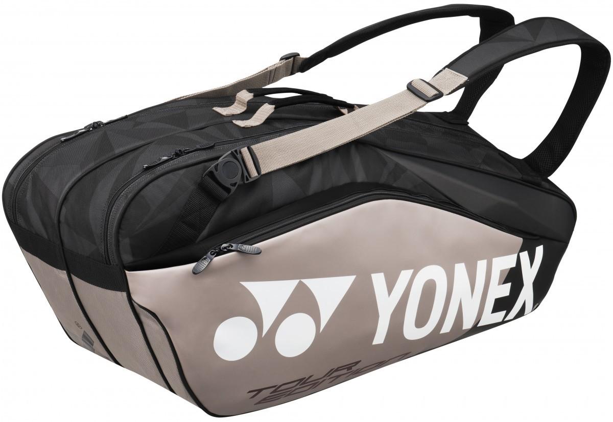 Torba tenisowa Yonex Pro Racquet Bag 6 Pack Platinium