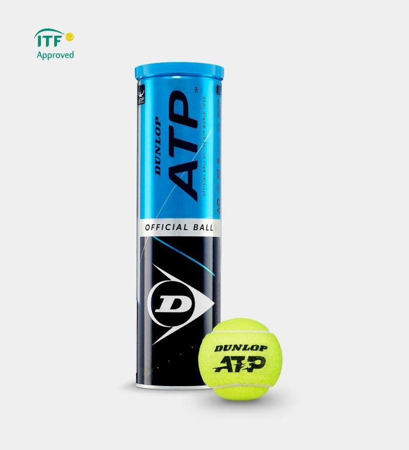 Piłki tenisowe Dunlop ATP karton 18 puszek x4szt.