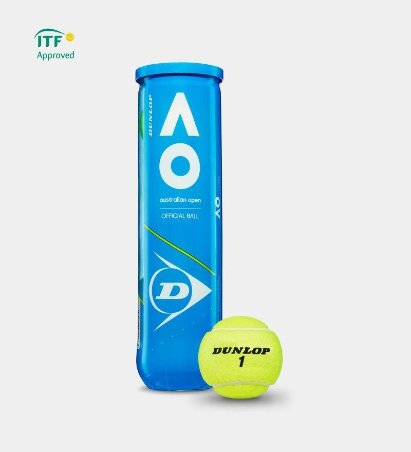 Piłki tenisowe Dunlop Australian Open karton 18 puszek x 4szt