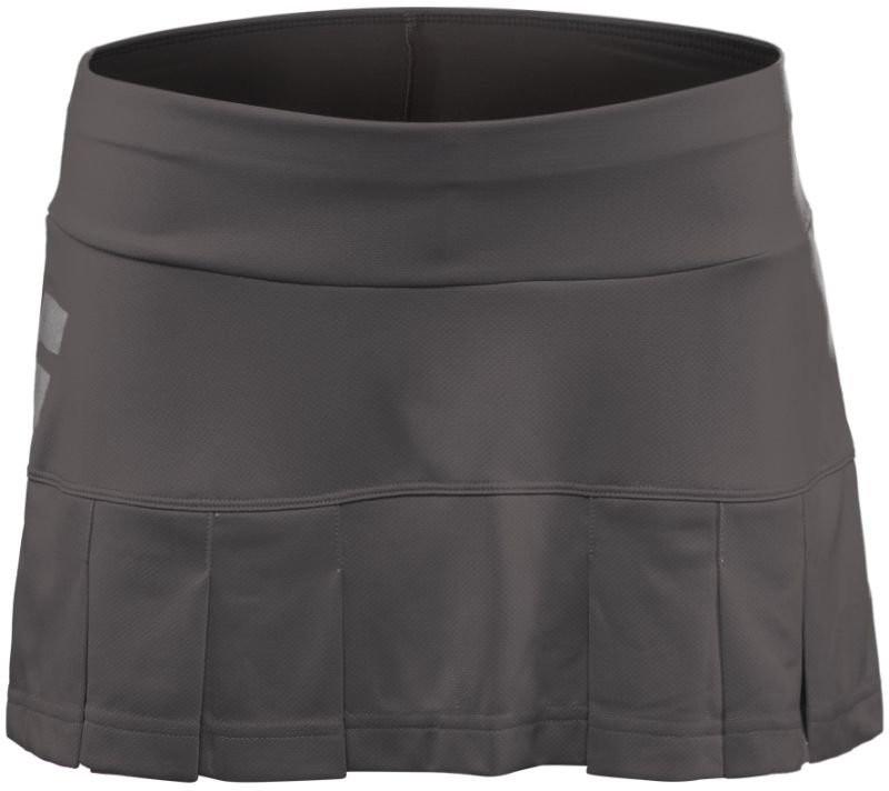 Spódniczka tenisowa dziewczęca Babolat Core Skirt Castlerock - wyprzedaż!