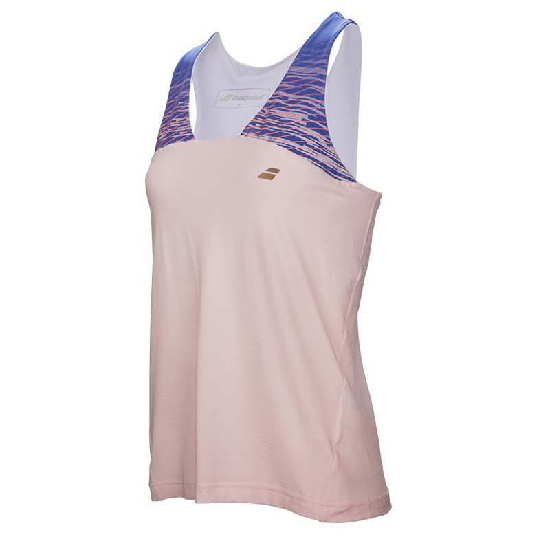 Koszulka tenisowa dziewczęca Babolat Perf Racerback - wyprzedaż!