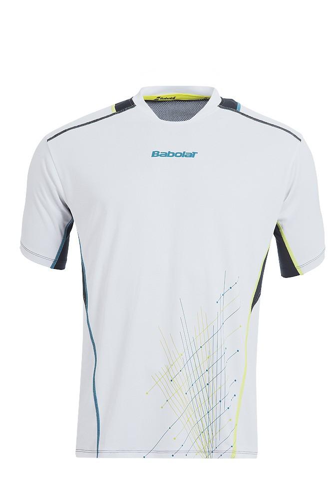 Koszulka tenisowa chłopięca Babolat Match Performance T-shirt White