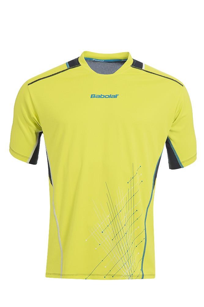 Koszulka tenisowa chłopięca Babolat Match Performance T-shirt Yellow