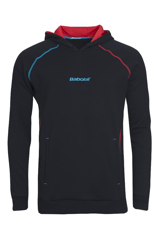 Bluza tenisowa Babolat Sweat Performance Men Black - Wyprzedaż!!
